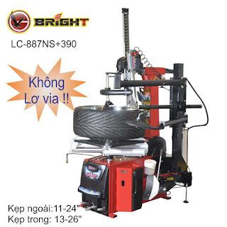 Máy ra vào lốp xe con tự động Bright LC-887NS+390