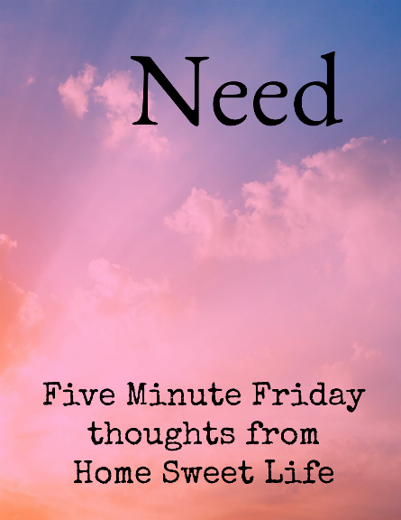 five minute friday writing prompts, need versus want