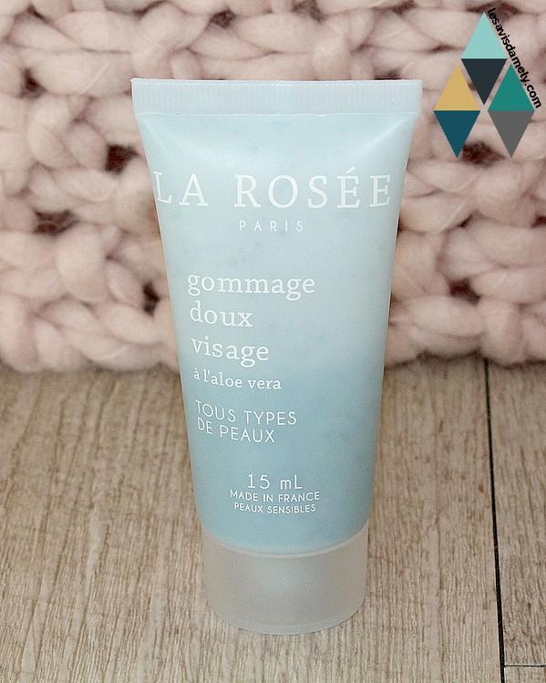 gommage visage doux La Rosée