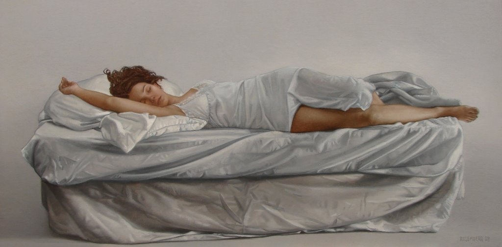 Alejandro Rosemberg 1981 | Argentine Figurative and Hyperrealist painter
