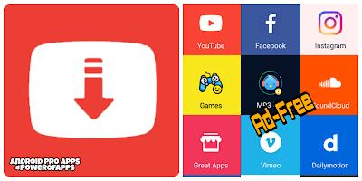 تطبيق تحميل الفيديوهات SnapTube للتحميل من اليوتيوب والفيس بوك وانستجرام واغللب مواقع الميديا