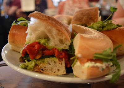 Afternoon tea at Tyneside Bar Cafe in Newcastle - sandwiches