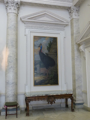 The Marble Hall, Clandon Park (July 2014) © Andrew Knowles - from the description of items salvaged, I think this painting by Francis Barlow was saved
