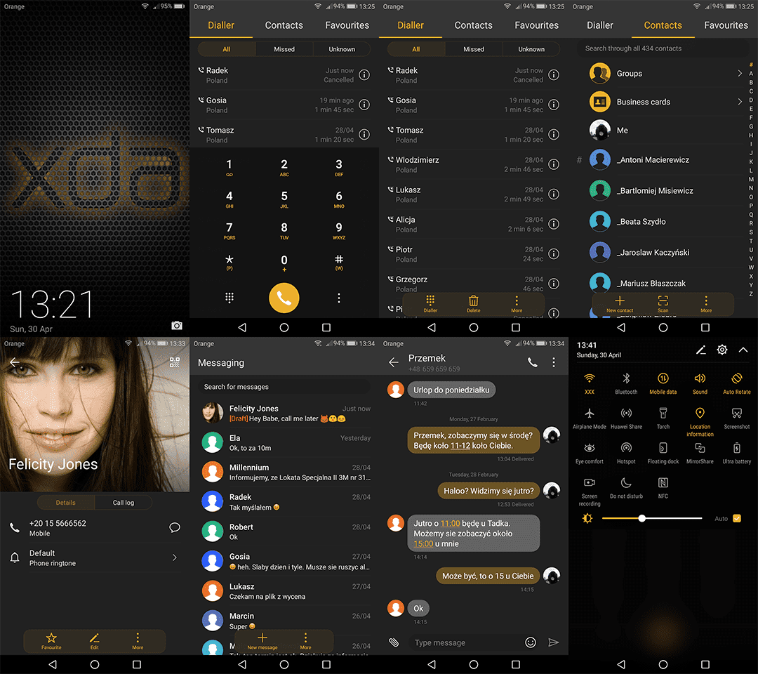 UPDATED) XDA-Exclusive Theme For Huawei Emui 5/5 1/Nougat - TheSpAndroid