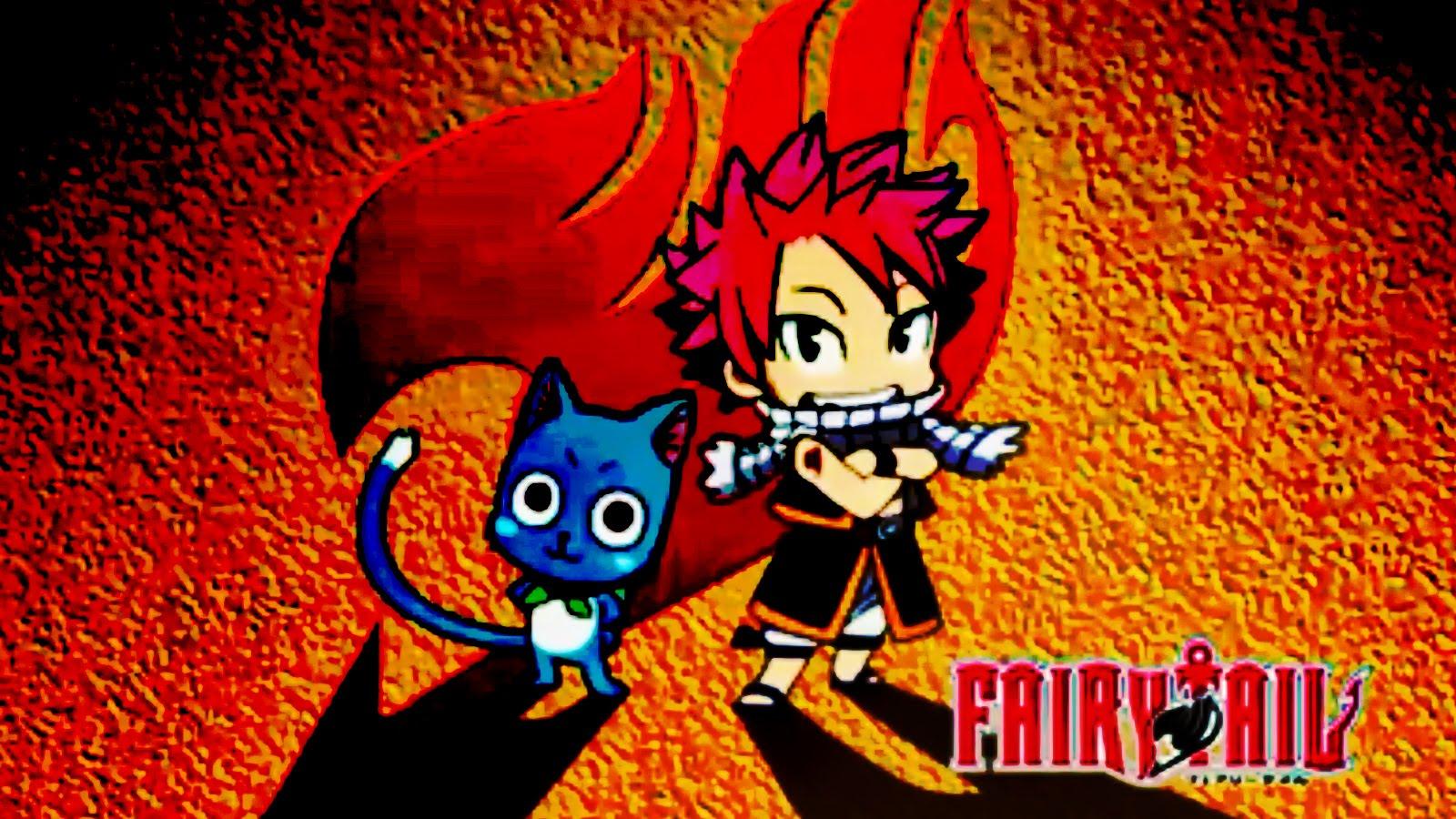 Fairy Tail Wallpaper Natsu And Happy