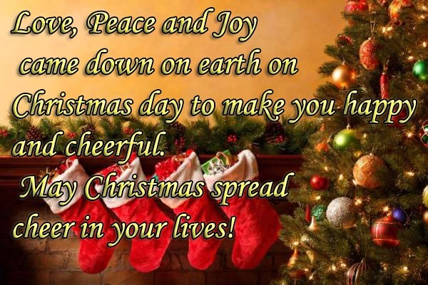 Cool Messages On Merry Christmas 2017 For Your Family Members
