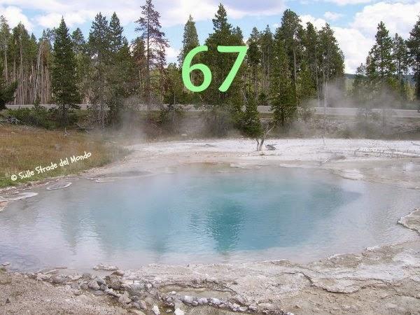 100 cose da fare prima di morire è anche Yellowstone