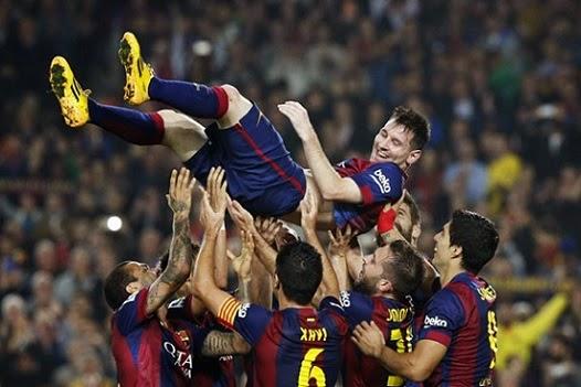Barcelona Taklukan Bayern Munchen dengan Skor Mencolok 3-0