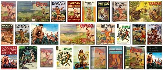 Tarzan és a hangyaemberek szereplők, népek, helyek