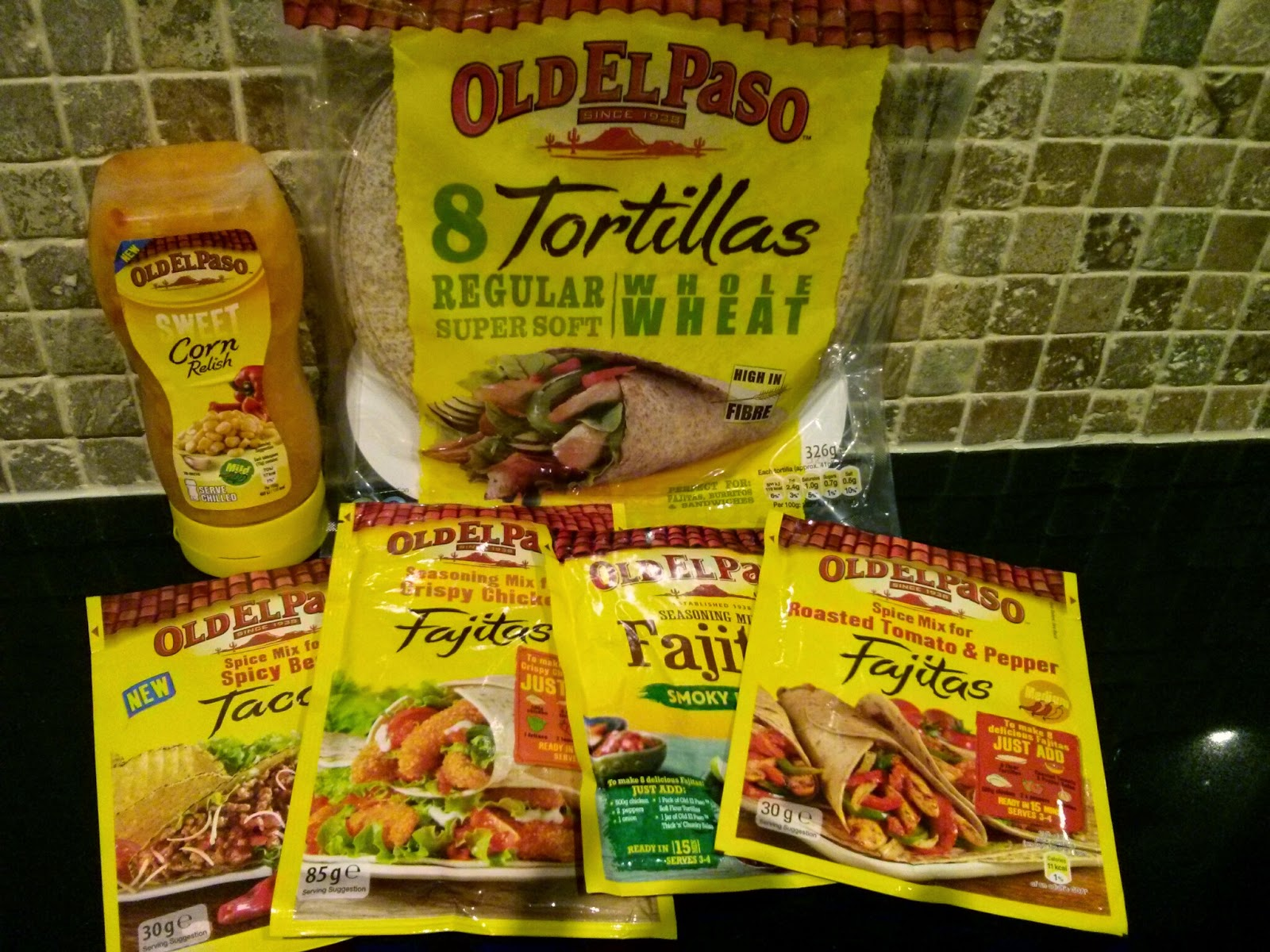 Old EL Paso selection