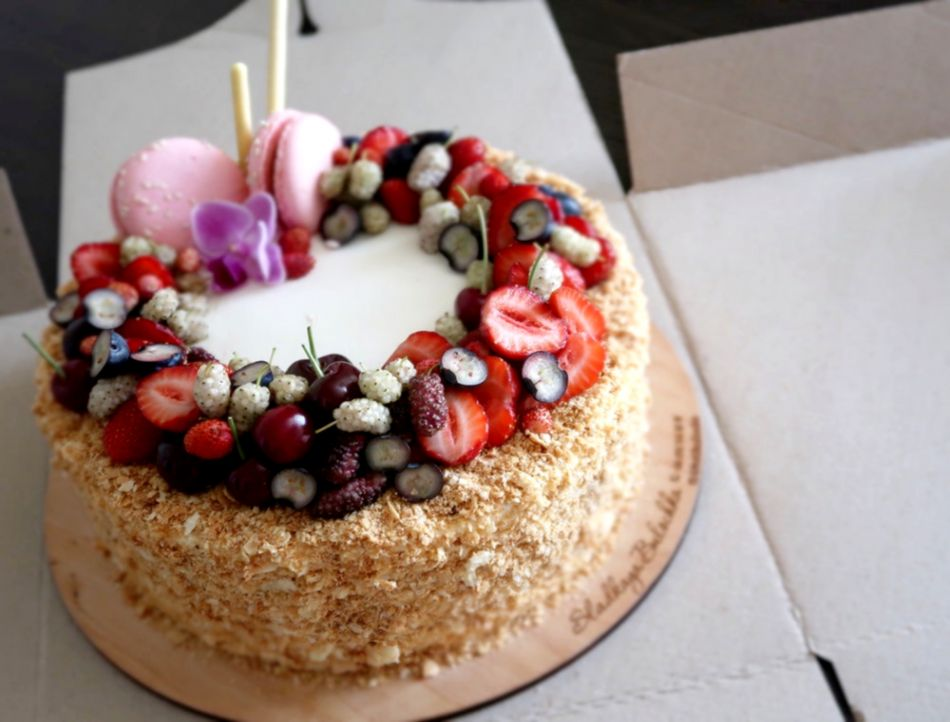 Cake Chocolate Sweet Dessert Candles Birthday Hd Wallpaper
