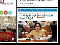 Setelah Dana Haji, Kini Pemerintah Jokowi Incer Dana Zakat dan Dana Wakaf Umat Islam