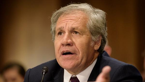 "Almagro insta a usar Carta Democrática de OEA para ""actuar"" en Venezuela"