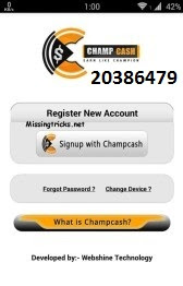 Earn Unlimited Money From Champ Cash