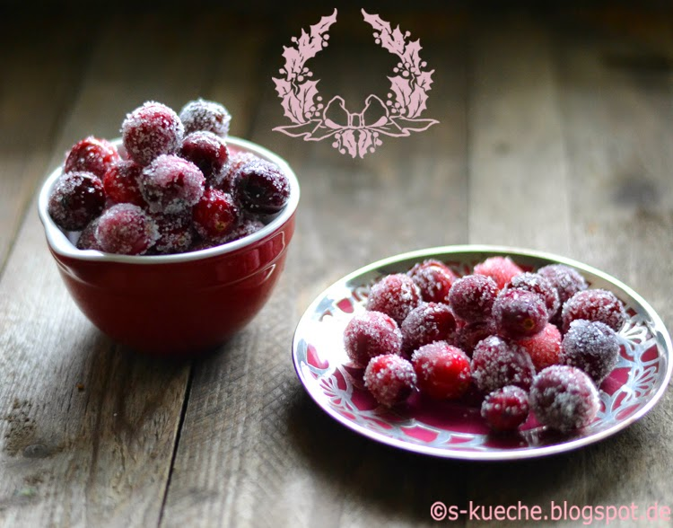 Gezuckerte Cranberries - Sparkling Cranberries