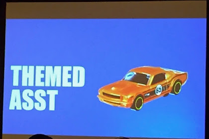 Sneak Presentation 30th Hot Wheels Collector Convention Part 5 : Theme Asst