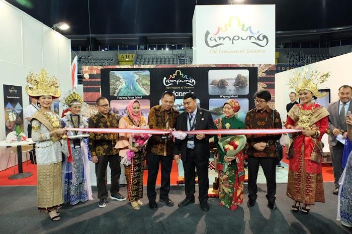 Gubernur Ridho Tampilkan Budaya Lampung di Place2Go International Tourism Zagreb