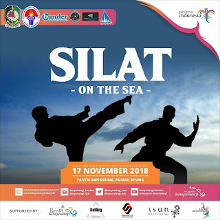 SILAT ON THE SEA Pantai Bangsring Rumah Apung Banyuwangi