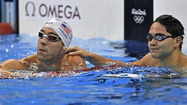 """""""A nadie le gusta perder, pero estoy orgulloso de Jo""""- Phelps"""