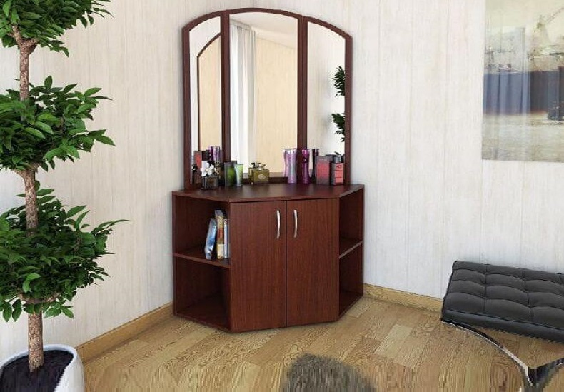 30 Small corner dressing table designs for bedrooms 2019
