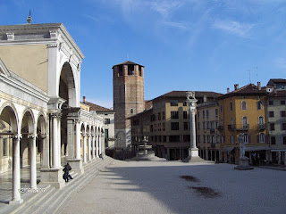 The beautiful Piazza della Libertà is one of the features of the Friulian city of Udine