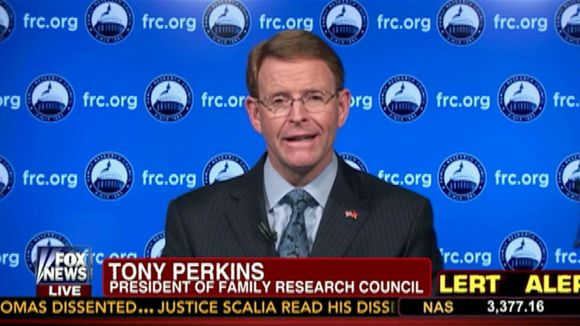 Hate Group Leader Tony Perkins