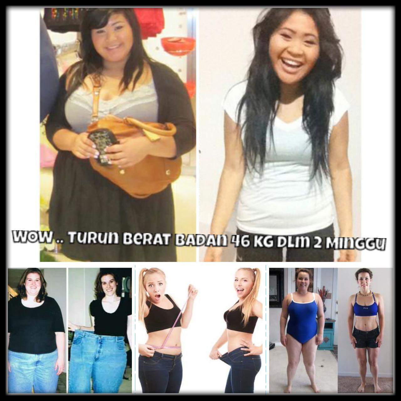 WOW Wanita Ini Turun Berat Nya Dari 98 Kilo Menjadi 56 Kilo