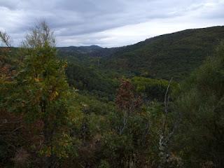 Montañas. Río Omañas