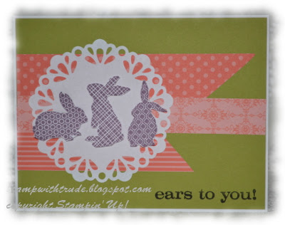 Stamp with Trude, Stampin' Up!, Easter, Bunny, spring