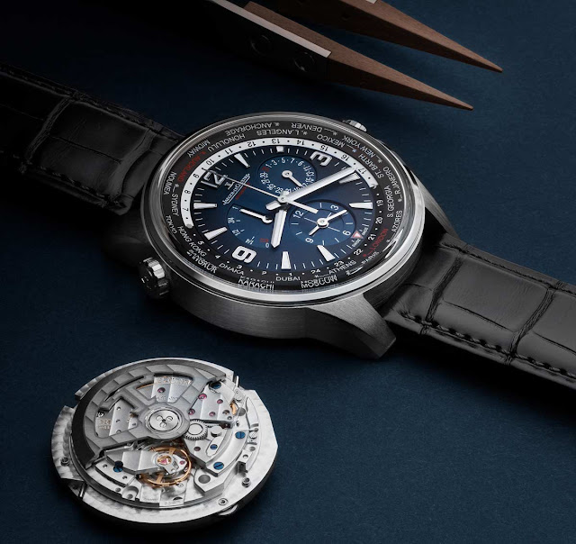 Jaeger-LeCoultre Polaris Geographic WT Limited Edition and Calibre 936A