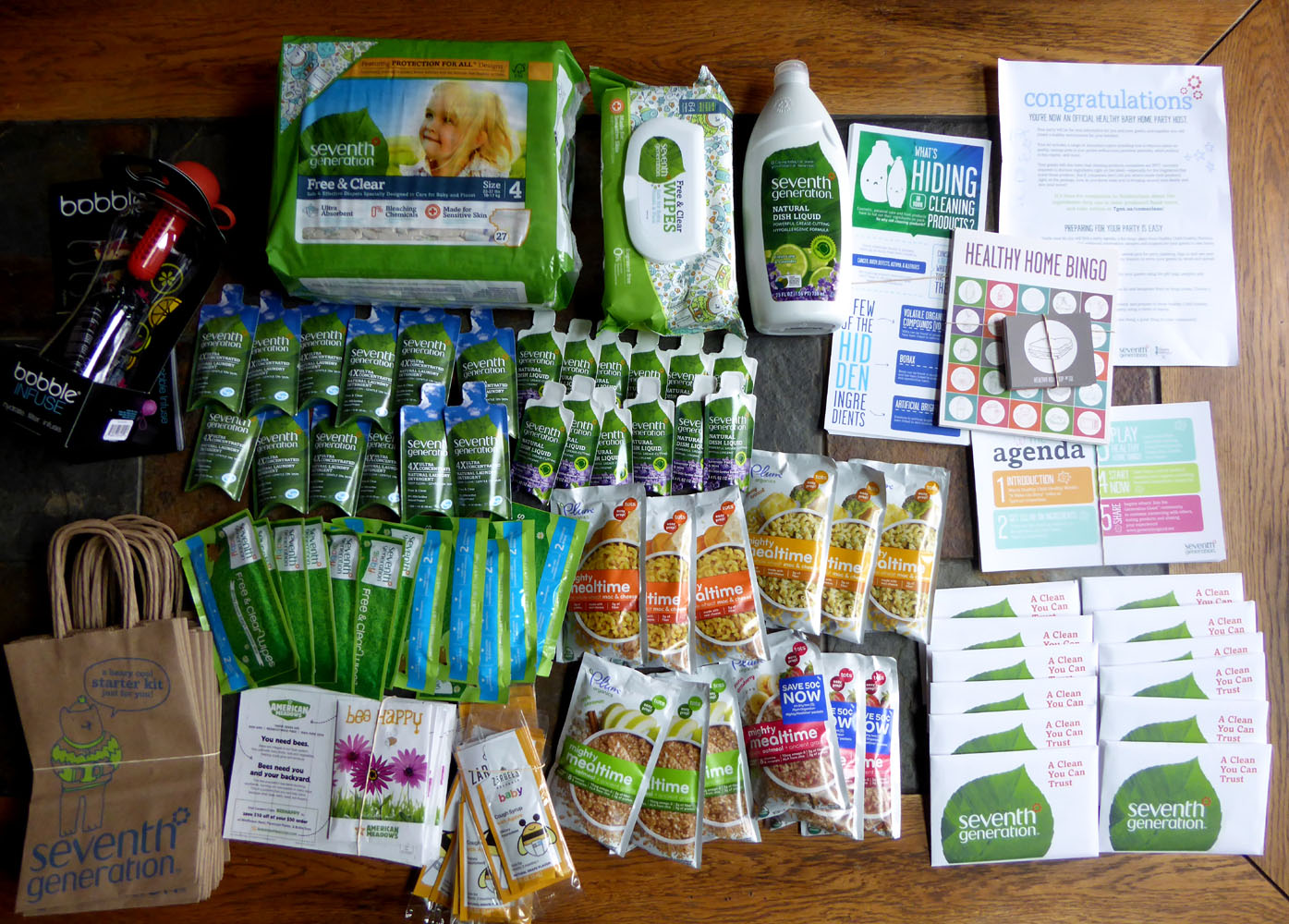 The Enchanted Tree: Generation Good-Healthy Baby Home Party kit ...