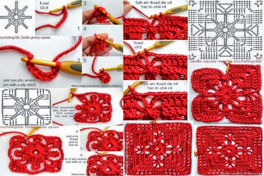 Granny pattern step by step