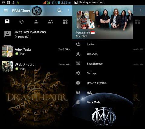 BBM Mod Dream Theater v3.2.5.12 Terbaru Gratis