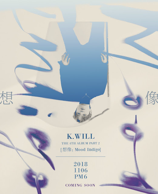 K.Will comeback 4th full album