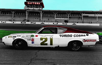Cale Yarborough #21 Ford Talladega Torino Cobra Racing Champions 1/64 NASCAR blog wood brothers