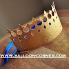 Mahkota Raja Dari Kertas Glitter