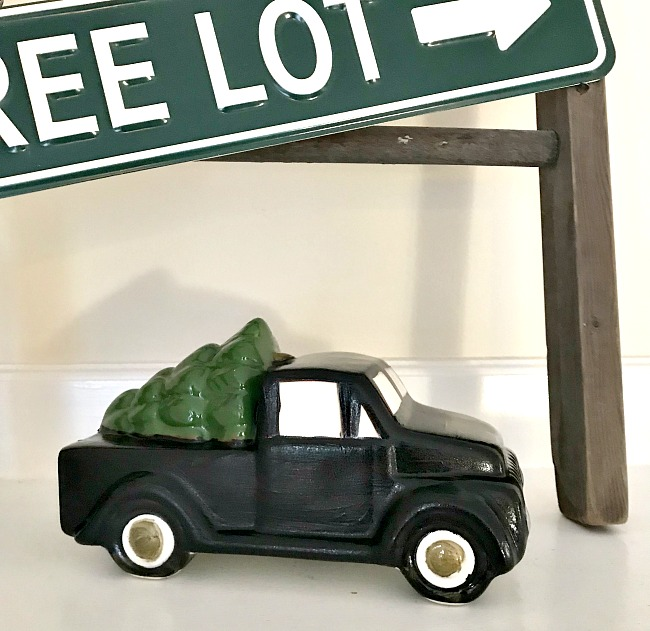 How to Paint a Christmas Tree Truck