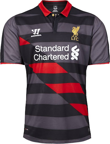 The Liverpool 2014-15 Third Kit is probably the most experimental of the  three 1630f6cd3