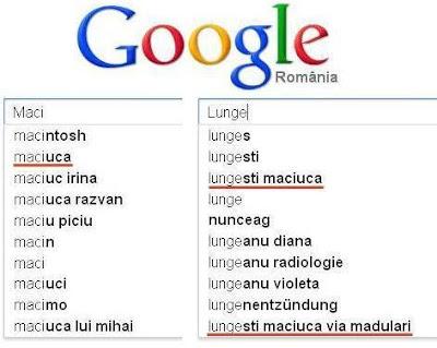 Maciuca pe Google