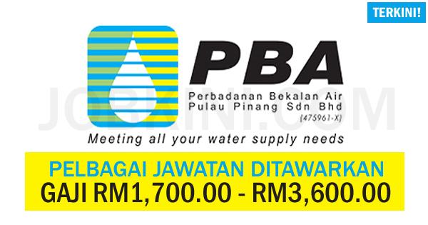 Perbadanan Bekalan Air Pulau Pinang Sdn Bhd
