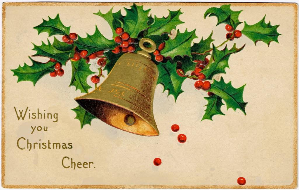 Christmas Postcards.Beautiful Vintage Christmas Postcards Vintage Everyday