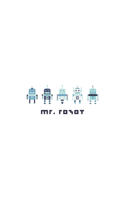 MR. ROBOT BLUE