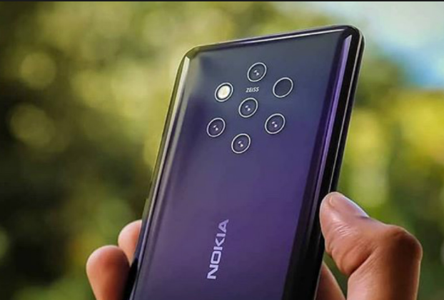 Nokia 9 PureView Press Render Leaked, Shows Penta-Lens Camera and In-Display Fingerprint Sensor