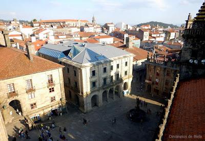 Plaza de las Platerias - Santiago de Compostela