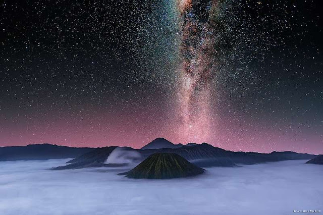 Tempat terbaik di Indonesia untuk Melihat Milky Way