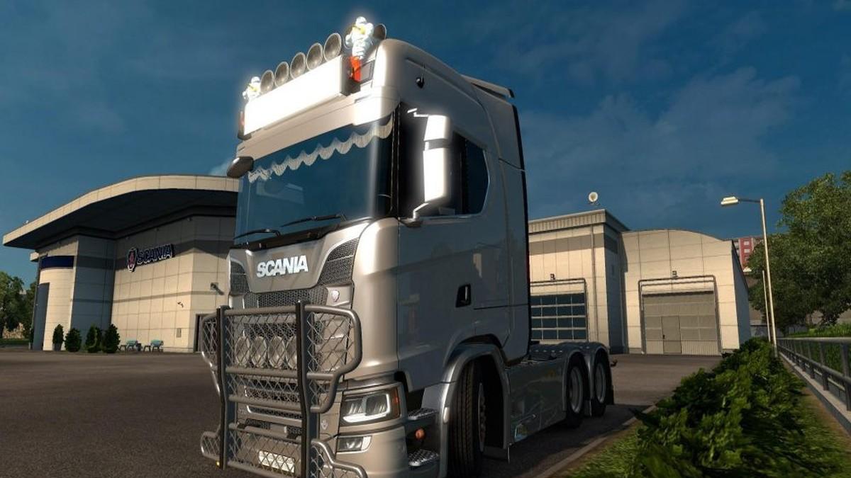 Scania 2016 Front Bullbar