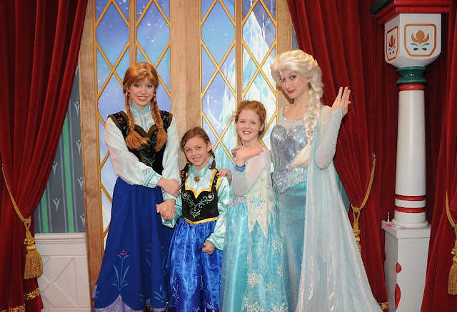 Encontros com as princesas da Disney no Epcot