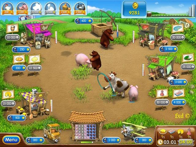 تحميل لعبة farm frenzy 2 كاملة للكمبيوتر