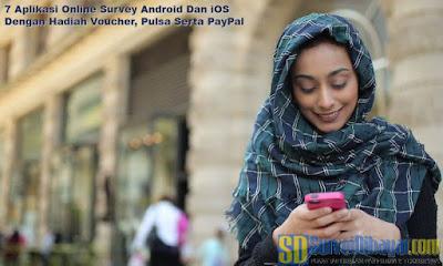 Aplikasi Online Survey Android Dan iOS | SurveiDibayar.com