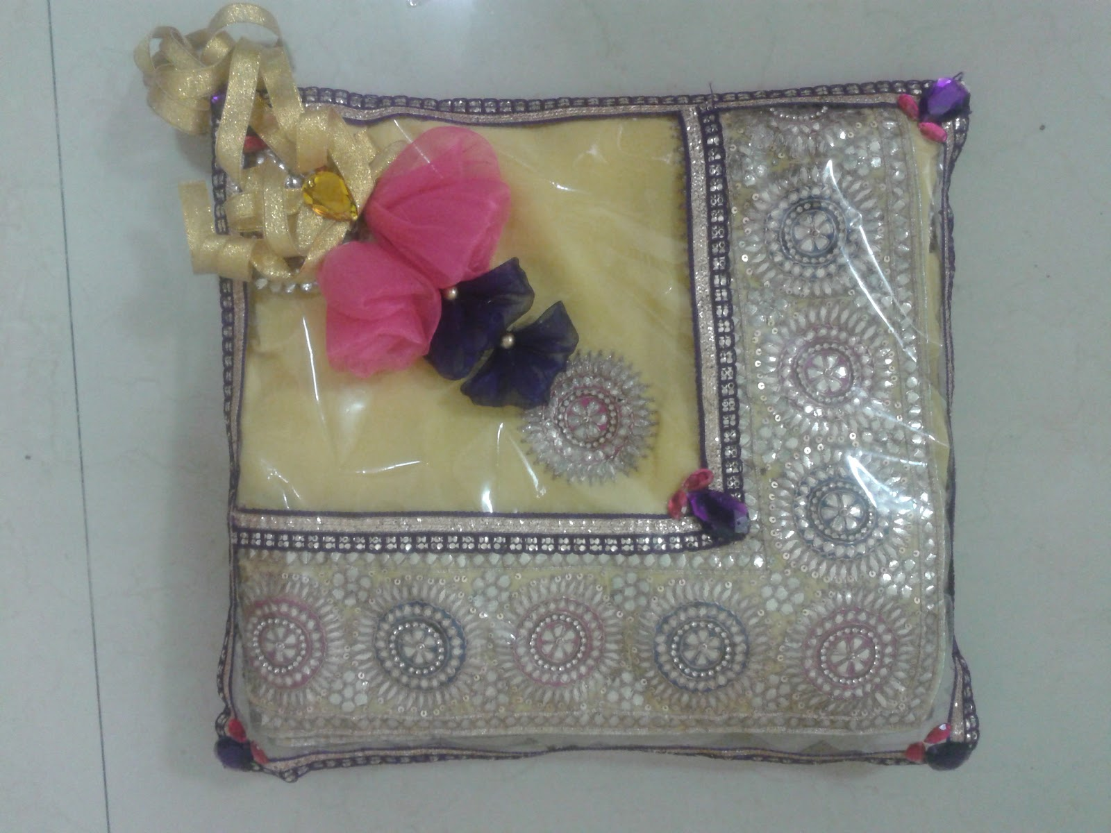 Tatta decoration with saree